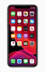 Apple iOS Homescreen