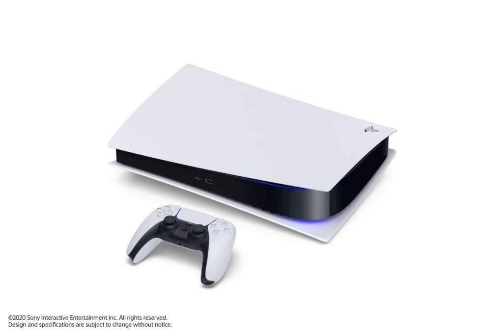 Sony PS5 horizontal