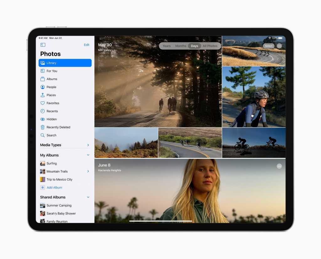 iPad OS 14 Sidebars