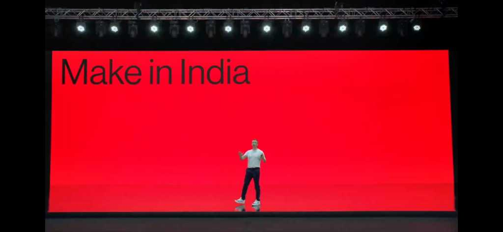 OnePlus Make in India