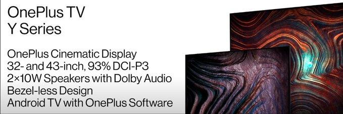 OnePlus TV Y Series
